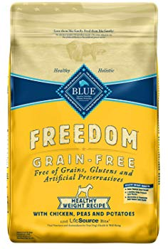 Blue Buffalo Freedom Grain Free Recipe for Dog, Healthy Weight Chicken Recipe