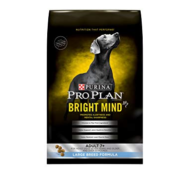 Purina Pro Plan Bright Mind Adult 7+ Large Breed Formula Senior Dry Food - (1) 30 lb. Bag