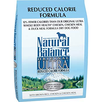 Natural Balance Original Ultra Reduced Calorie Formula Dry Dog Food, 14-Pound