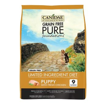 CANIDAE Grain Free PURE Dry Dog Food new