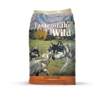 Taste of the Wild Grain Free High Protein Natural Dry Dog Food puppy