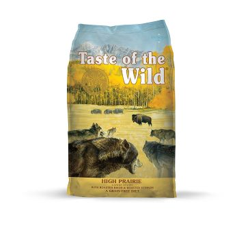 Taste of the Wild Grain Free High Protein Natural Dry Dog Food venison