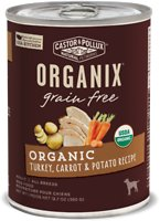 Castor & Pollux Organix Grain-Free Organic Turkey, Carrot & Potato Recipe Adult Canned Dog Food
