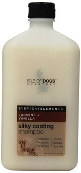 sle of Dogs Everyday Jasmine & Vanilla Silky Coating Shampoo for Dogs
