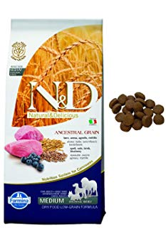 Farmina N & D Ancestral Low Grain Dry Dog Food lamb