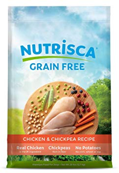 Dogswell 842426 Nutrisca Chicken and Chick Pea Food for Pets