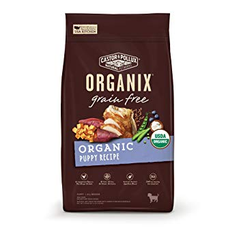 Castor & Pollux Organix Grain Free Organic Puppy Recipe Dry Dog Food 10lb