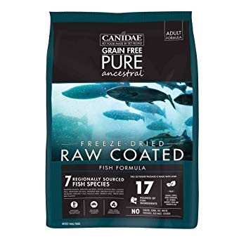 Canidae Pure Ancestral Raw Coated Salmon Dog Food 20lb