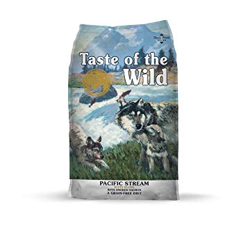 Taste of the Wild Grain Free Premium Dry Dog Food Pacific Stream PUPPY