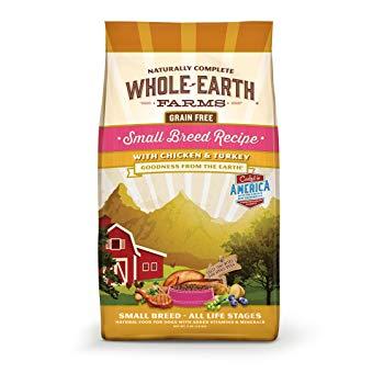 Merrick Whole Earth Farms Grain Free Small Breed Recipe Chicken