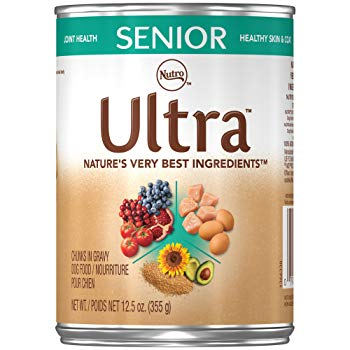 Nutro ULTRA Senior Chunks in Gravy Canned Dog Food