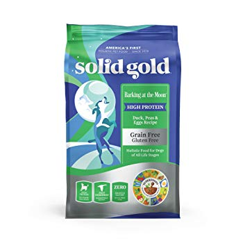 Solid Gold High Protein Dry Dog Food; Barking at the Moon Grain-Free with Real Duck & Egg