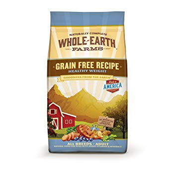 Merrick Whole Earth Farms Grain Free Healthy Weight Recipe Dry Dog Food