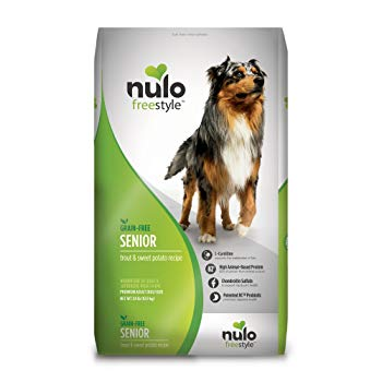 Nulo Grain Free Senior Dog Food with Glucosamine and Chondroitin