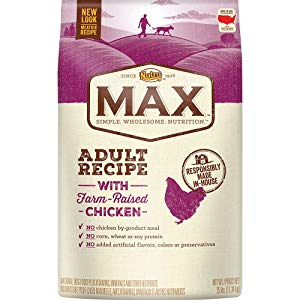 Nutro Max Adult Dry Dog Food With Farm Raised Chicken