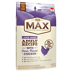 Nutro Max Large Breed Adult Dry Dog Food With Farm Raised Chicken