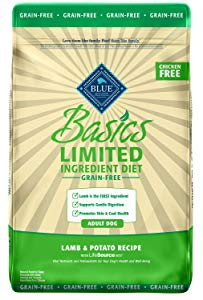 Blue Basics Limited Ingredient Diet Adult Grain Free Lamb & Potato Dry Dog Food
