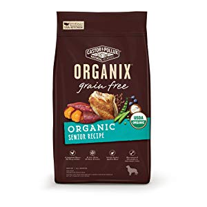 Castor & Pollux Organix Grain Free Organic Senior Recipe Dry Dog Food
