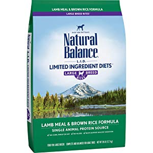 Natural Balance Dry Dog Food Limited Ingredient Diet for Large Breeds