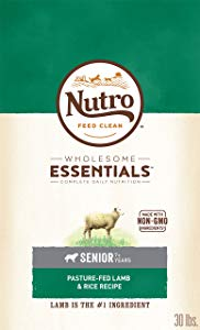 Nutro Wholesome Essentials Lamb & Rice Senior Recipe