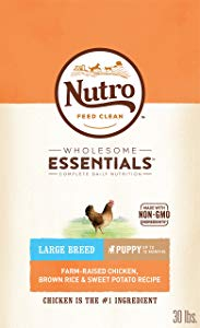 Nutro Wholesome Naturals Large Breed Puppy Food