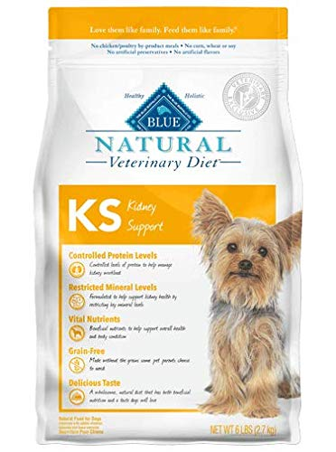 Blue Buffalo Natural Veterinary Diet Kidney Support for Dogs