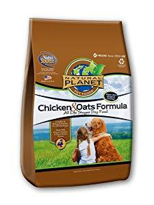 Natural Planet Organic Chicken & Oats Formula