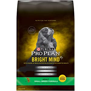 Purina Pro Plan Bright Mind Small Breed Formula Adult Dry Dog Food