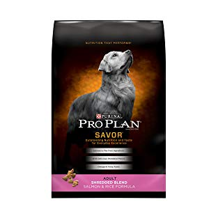 Purina Pro Plan Savor Shredded Blend Salmon & Rice Formula Adult Dry Dog Food