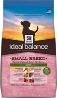 Hill's Ideal Balance Small Breed Natural Chicken & Brown Rice Recipe Adult