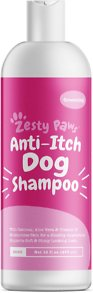 Zesty Paws Oatmeal Anti-Itch Dog Shampoo