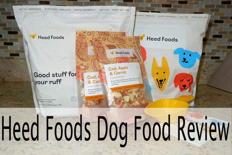 heed dog food