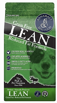 Annamaet Grain-Free Lean Low Fat Formula Dry Dog Food