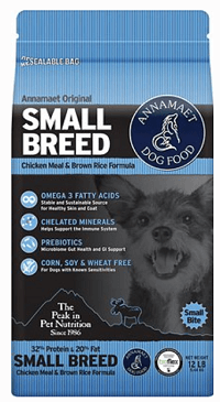 Annamaet Original Small Breed Formula Dry Dog Food