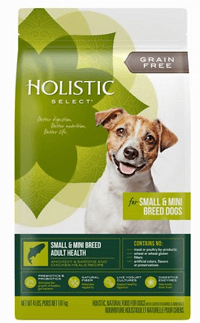 Holistic Select Small & Mini Breed Adult Health Anchovy, Sardine & Chicken Meals Recipe Dry Dog Food
