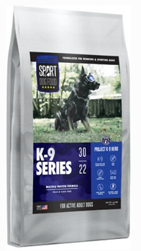 Sport Dog Food K-9 Series Project K-9 Hero Multiple Protein Formula Flax-Free Dry Dog Food
