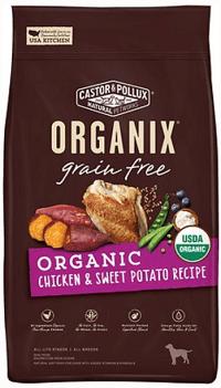 Castor & Pollux Organix Grain-Free Organic Chicken & Sweet Potato Recipe Dry Dog Food