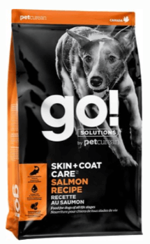 Go! Solutions Skin + Coat Care Salmon Recipe Dry Dog Food