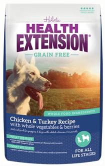 Health Extension Grain-Free Chicken & Turkey Recipe Dry Dog Food
