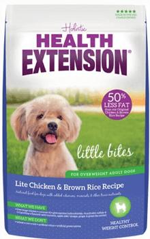 Health Extension Little Bites Lite Chicken & Brown Rice Recipe Dry Dog Food