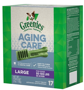 Greenies Aging Care Large Dental Dog Treats