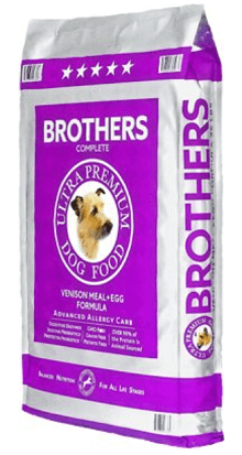 Brothers Complete Venison Meal & Egg Formula Advanced Allergy Care Grain-Free Dry Dog Food