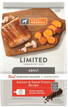 Simply Nourish Limited Ingredient Diet Salmon & Sweet Potato Recipe Dry Dog Food