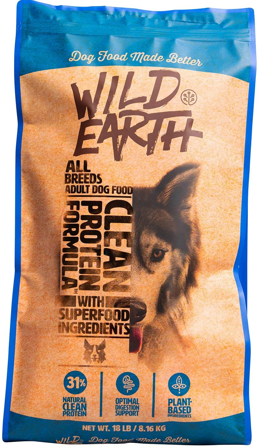 Wild Earth Clean Protein Dog Food