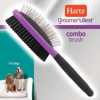 Hartz Groomer's Best Combo Dog Brush
