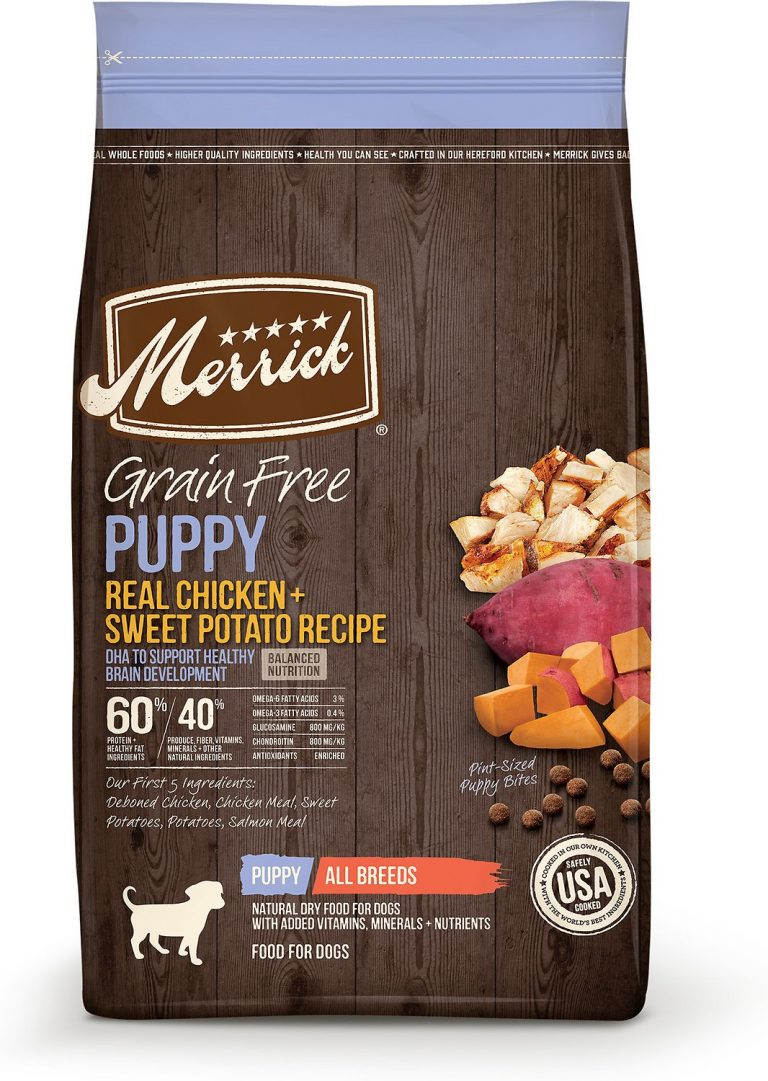 Merrick Grain-Free Puppy Recipe Dry Dog Food