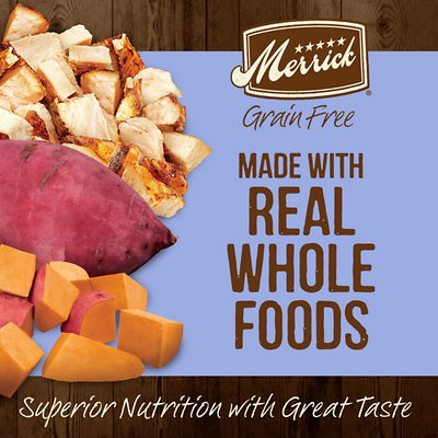 Merrick Grain-Free Puppy Chicken & Sweet Potato Recipe Dry Dog Food