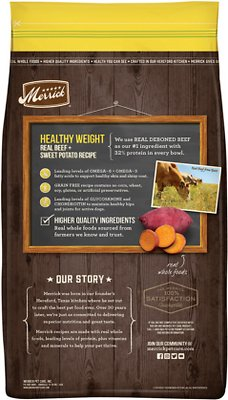 Merrick Grain-Free Healthy Weight Recipe Dry Dog Food