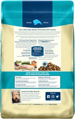 Blue Buffalo Life Protection Formula Large Breed Adult Fish & Oatmeal Recipe Dry Dog Food