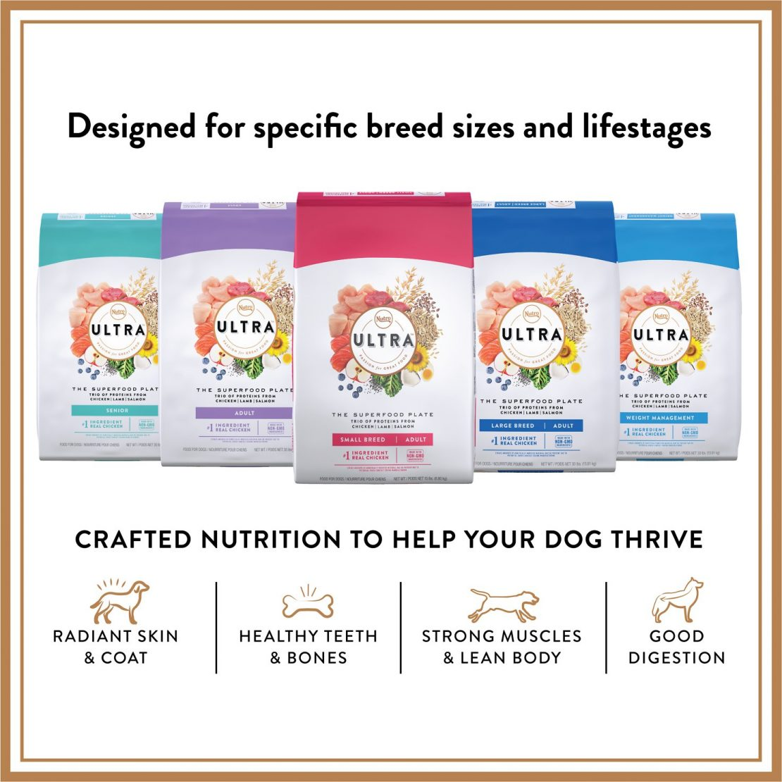 Nutro Ultra Dry Dog Food - The Superfood Plate